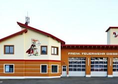 Neues Feuerwehrhaus der FF-Diesendorf.